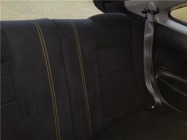Japan ITR yellow stitched black back seats