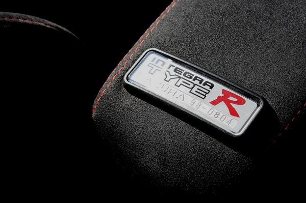 1998-2001 USDM/CDM Acura Integra Type-R interior badges