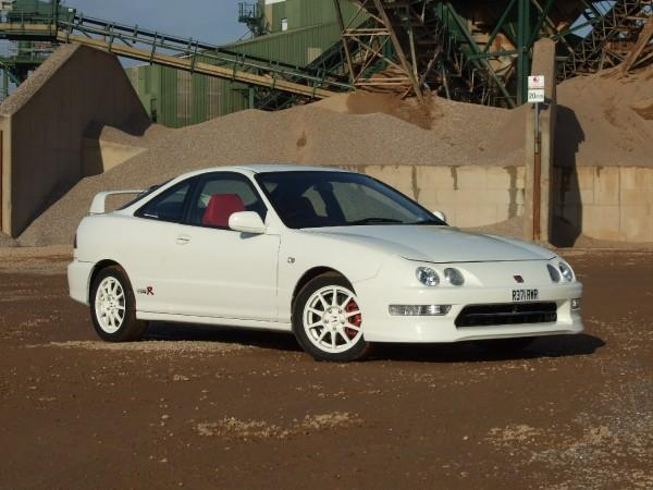 UKDM Championship White Integra Type-R