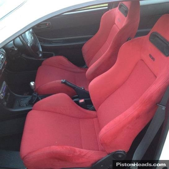 UKDM Integra Type-R red recaro SRDs