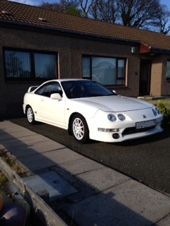UKDM Integra Type-R Champ White