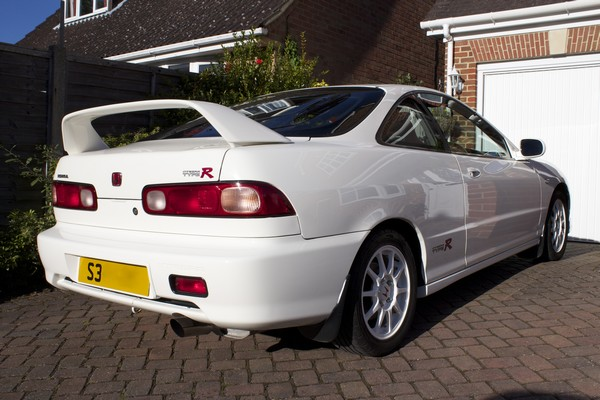 Clean back of UKDM Honda Integra Type-R