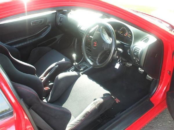 UKDM Integra Type-R right hand drive interior