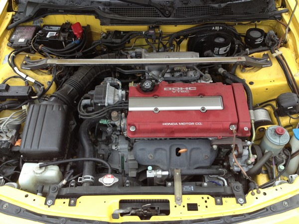 Stock Acura Integra Type-R engine