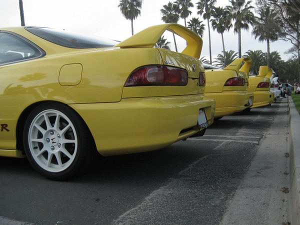 2000 Phoenix Yellow ITR with JDM 16 inch wheels