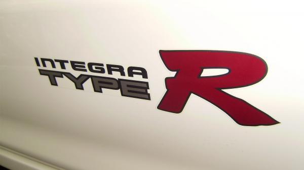 Championship White Integra Type-R rear Decal