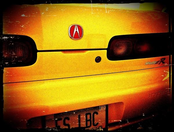 Phoenix Yellow Acura ITR 00-0126 from Arizona