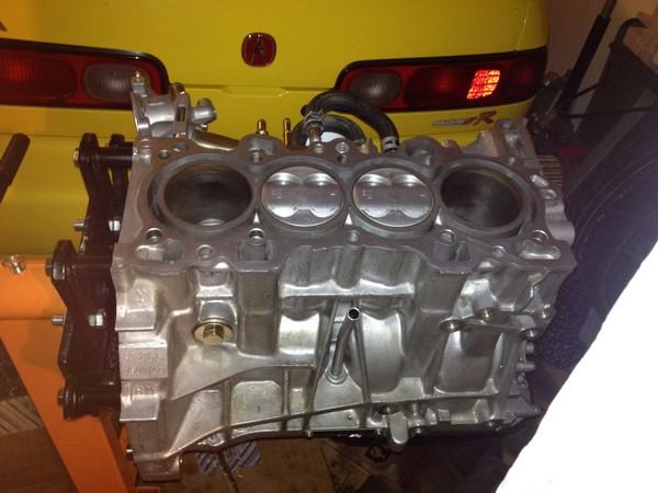 2000 Acura ITR B18C5 engine block
