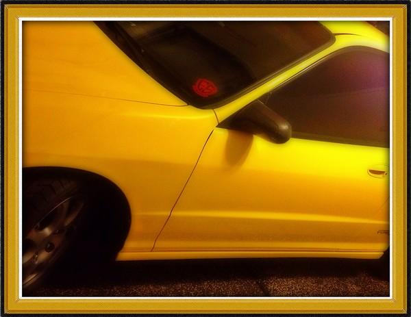Phoenix Yellow Acura Integra Type-R