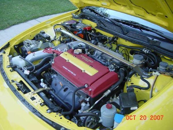 2000 Acura Integra Type-r motor bay AEM parts