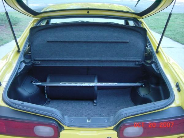 2000 Acura Integra Type-r phoenix yellow with sub and rear strut bar