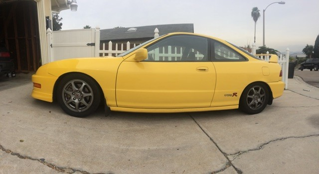 Phoenix Yellow 2000 Integra Type-R fish eye lense