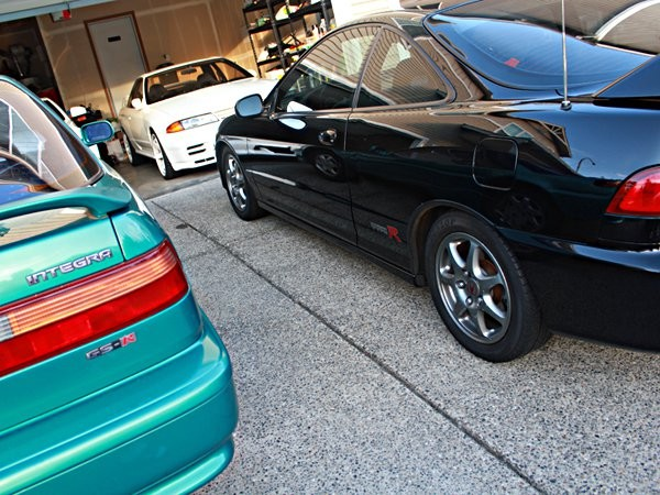 Acura Integra Type-r with GS-R and Skyline