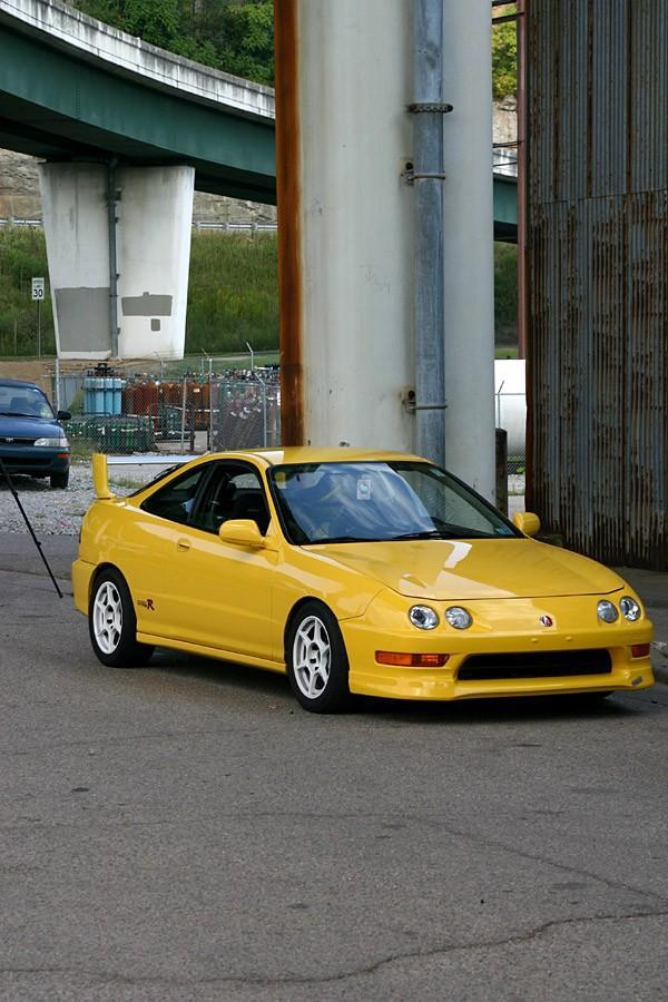 Phoenix Yellow Integra Type-r