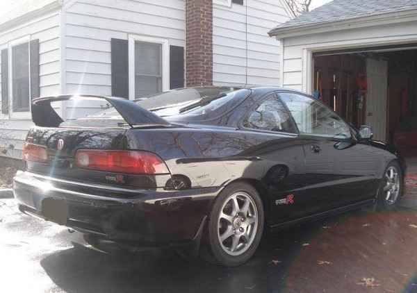 Flamenco black pearl 2000 Integra type-r un-modified back