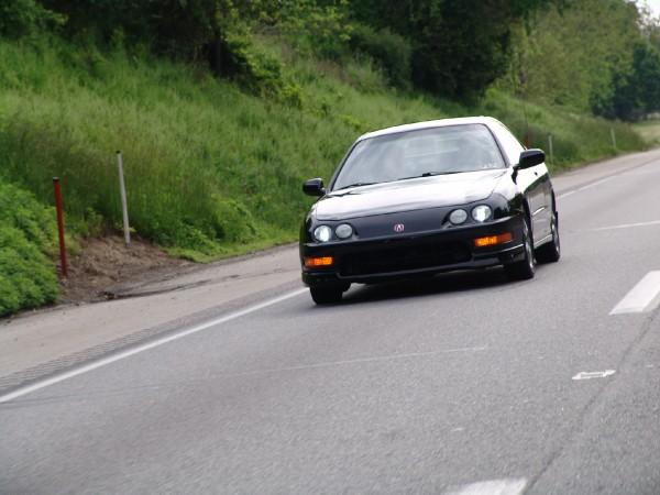 2000 Flamenco Black Pearl Integra type-r driving