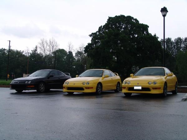 3 ITRs parked together