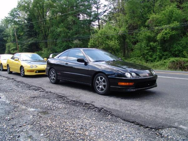 3 integra type-r's in a line