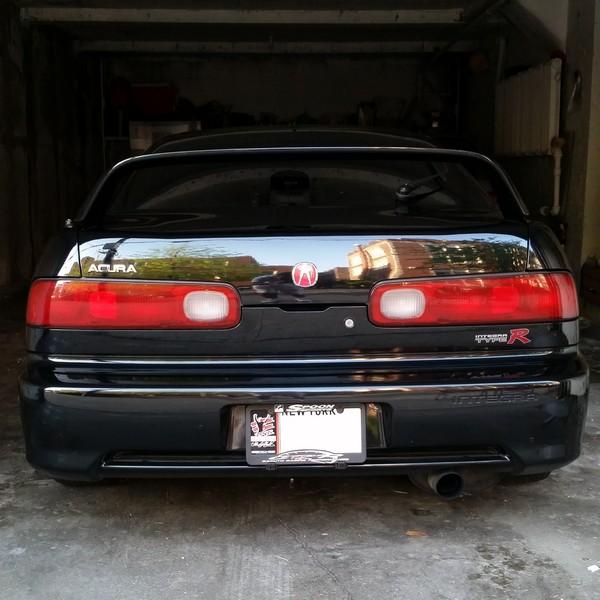 2000 Integra Type-R stock rear end