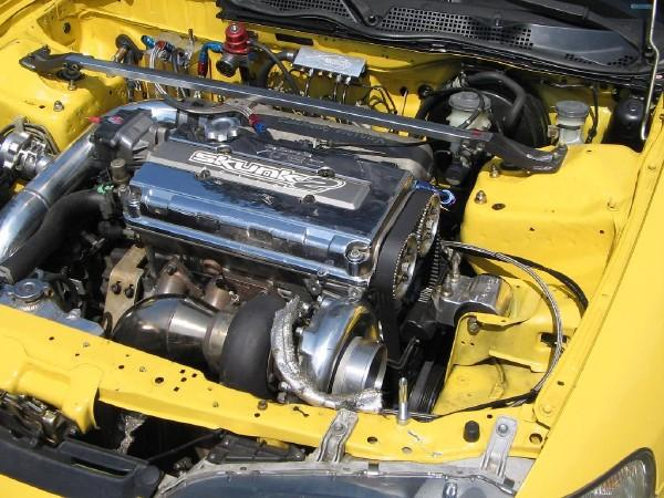 2000 Integra Type-R Turbo with chrome