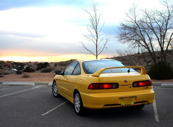 back of 2000 PY integra type-r