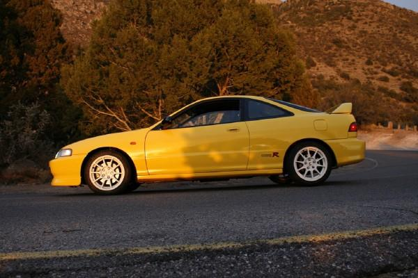 drivers side shot of Phoenix yellow ITR