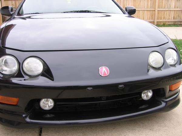 Acura Integra Type R - Acura integra fog lights