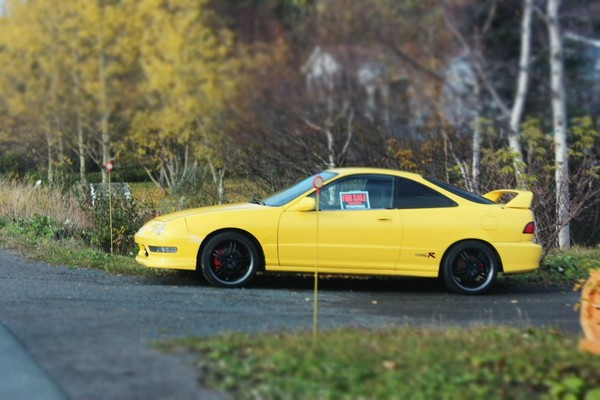 Phoenix Yellow 2000 Acura Integra Type-r for sale