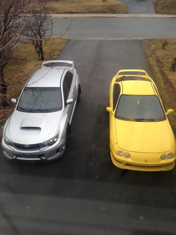 PY 2000 Acura ITR with Subaru STI