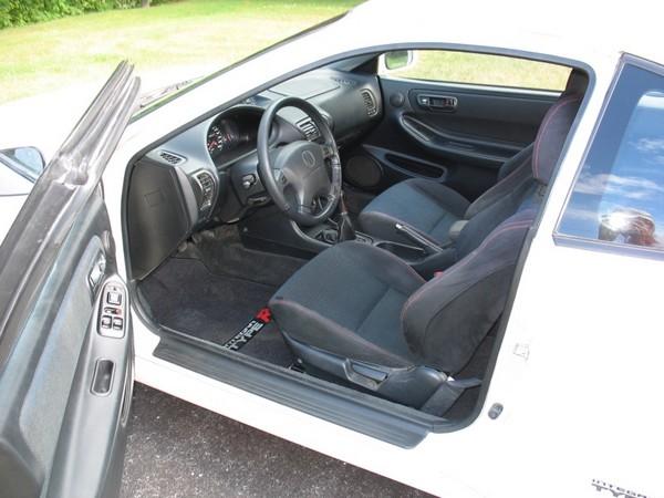 CDM 2000 Championship White Acura Integra Type-R Interior