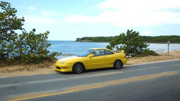 PY ITR at the beach in the carribean