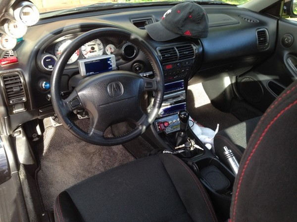2000 Integra Type R cockpit
