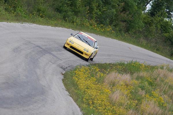 Phoenix Yellow 2000 Acura Integra Typer Rallycar