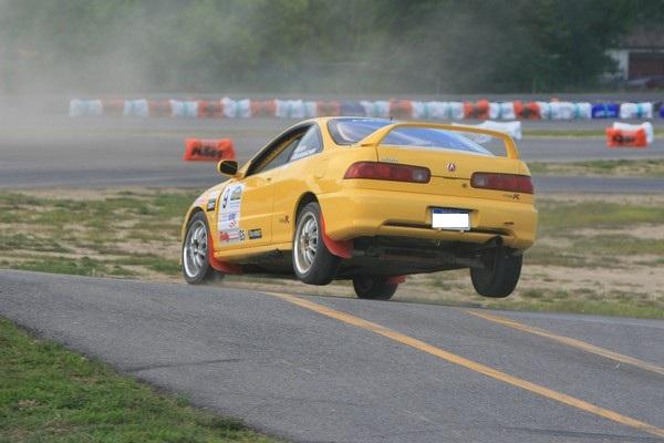 Phoenix Yellow 2000 Acura Integra Type-r landing