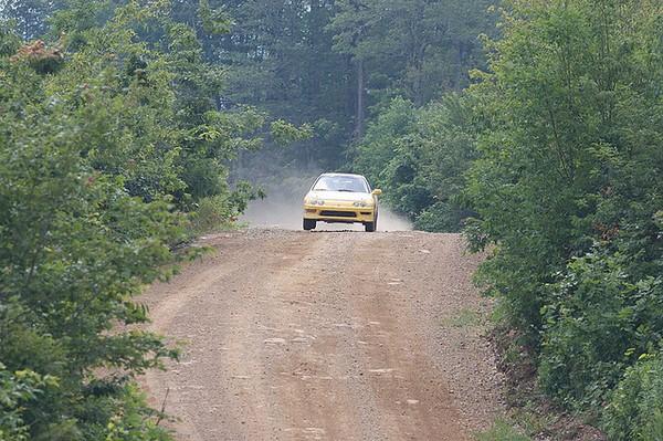 Phoenix Yellow 2000 Acura Integra Type-r dirt track