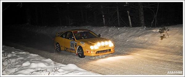 Phoenix Yellow 2000 Acura Integra Type-r rally lights