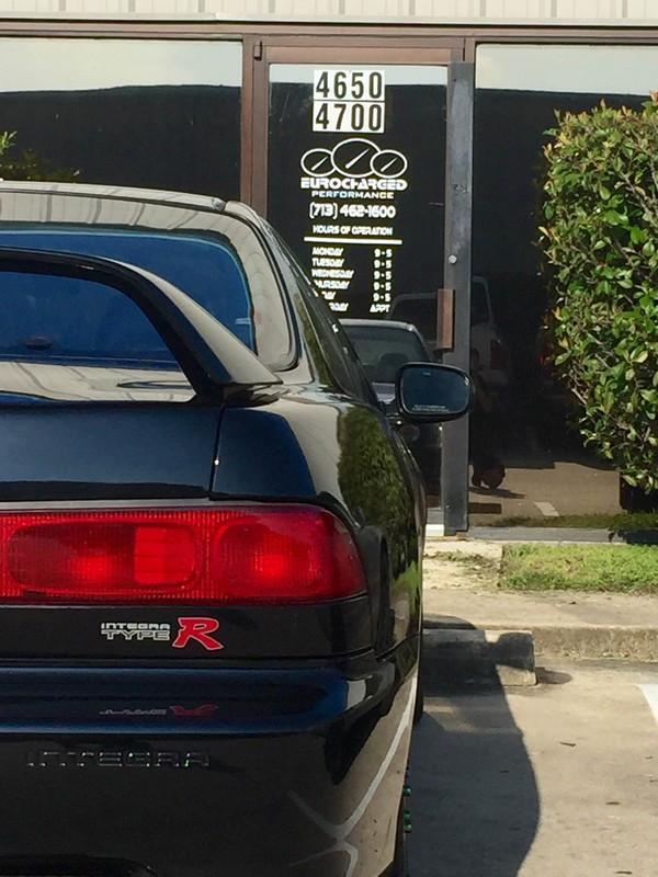 2000 Acura Integra Type-R rear