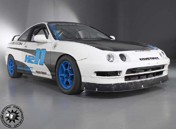 1997 Integra Type-R race car.