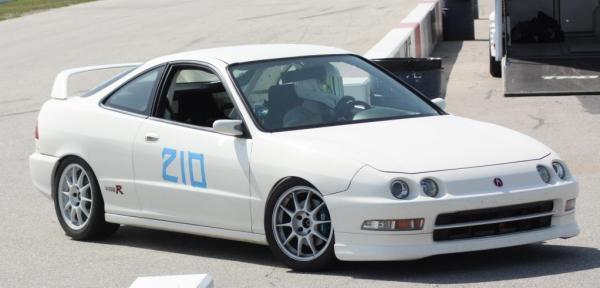 1997 Integra Type-R championship white