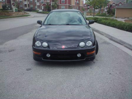 2000 Acura Integra Type-r flamenco black pearl front end
