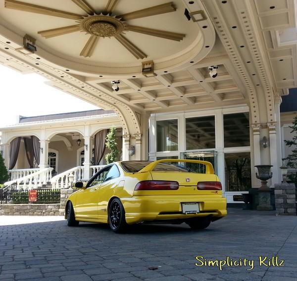 2000 Phoenix Yellow Acura Integra Type-R