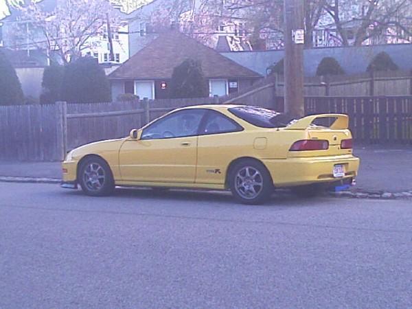 Phoenix Yellow 2000 ITR carbon fiber hood