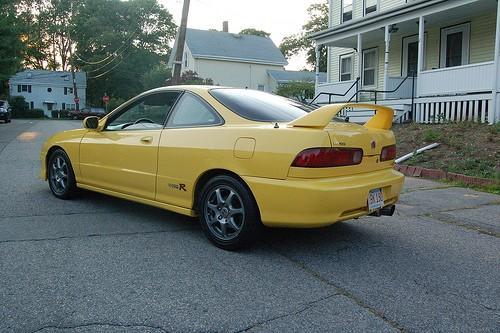 Phoenix Yellow 00' Integra Type-R