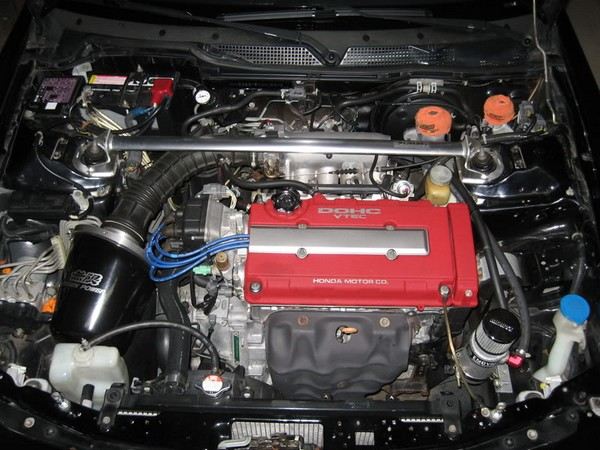 2000 Acura Integra Type-r with Mugen Intake & Spoon header