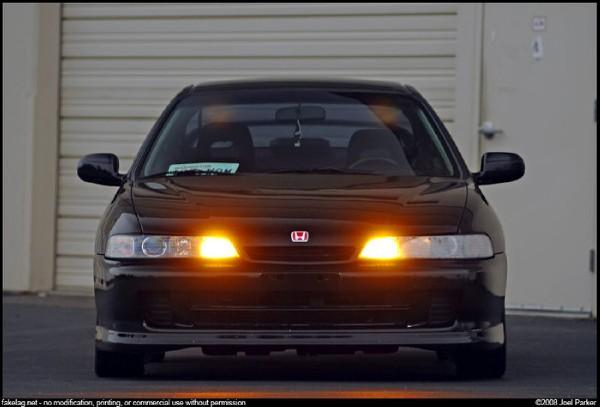 Integra Type R JDM front end w/ parking lights
