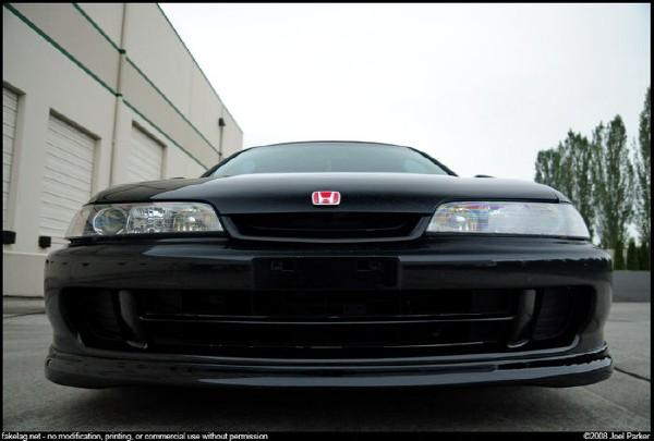 How an Integra Type-R smiles!