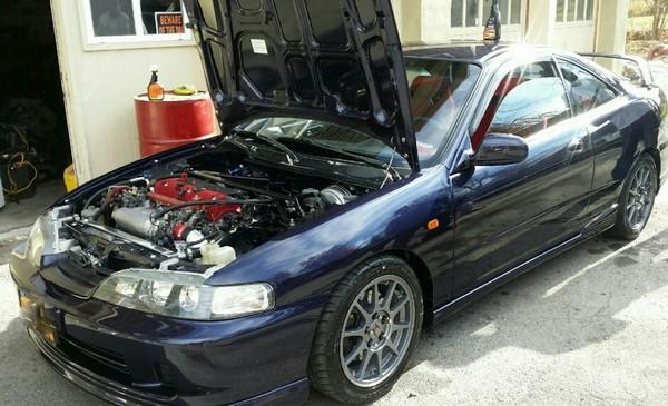 2000 Acura Integra Type-r JDM Gunmetal Rims