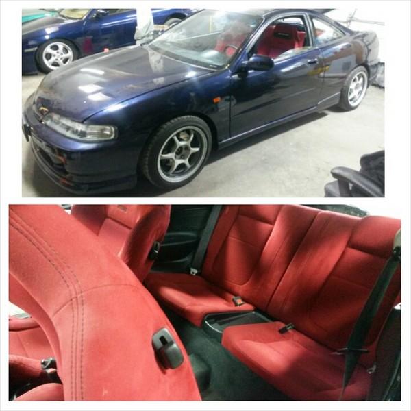 2000 Acura Integra Type-r interior and exterior
