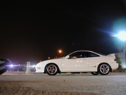championship white 1997 Acura Integra Type-R