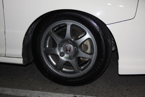 1997 Acura Integra Type-R with gunmetal USDM ITR wheels